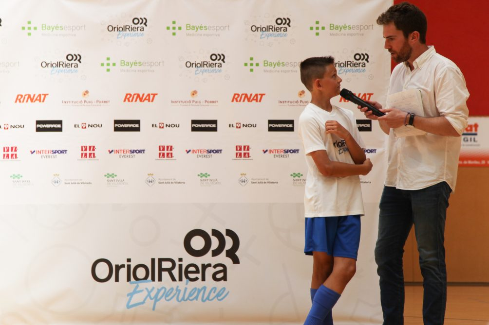 Oriol Riera Experience 2018